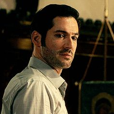 "Tom Ellis  ""D-did you see that? Did you see what she just DID?""  ""I saw."""