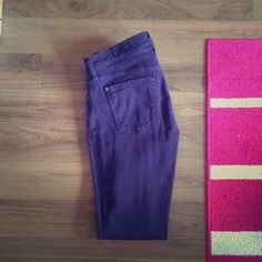 7 for all man kind skinny jeans Purple, skinny jeans- willing to negotiate price 7 for all Mankind Jeans Skinny