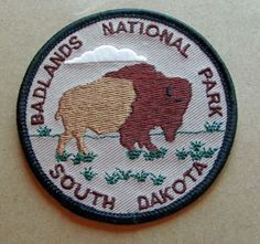 national park patches badlands - Google Search