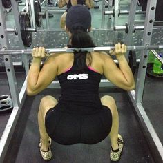 Proper Form matters.  #squats #workout