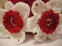 Crochet flower Tutorial ♥Teresa Restegui http://www.pinterest.com/teretegui/ ♥