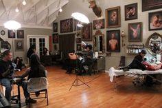 Shawn Barber's tattoo studio