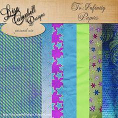 Scrapbooking TammyTags -- TT - Designer - Lisa Campbell Designs, TT - Item - Paper