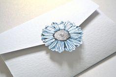 pocket fold invite Grace & Bramble | Classical Wedding Stationery