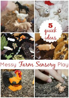 5 Messy Sensory Play Recipes A Sensory Play Experiment To Learn And Feel! Dig In And Get Messy! Does your child like messy play? Does he dig right in and get started? Or is he hesitant and reluctant to get his hands messy? I have the latter of the two and, although not extreme by any means, ...
