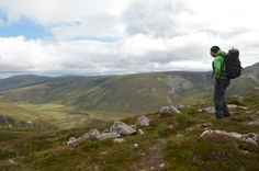 Stop to admire the beautiful views in the Cairngorms National Park.