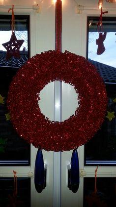 Weihnachts Kranz Rot
