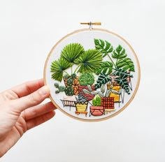Contemporary Hand Embroidery by Sarah K. Benning