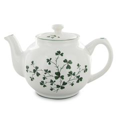 Shamrock Teapot LARGE ---at English Tea Store  many to choose from. good prices. many sizes.