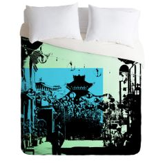 Amy Smith Chinatown Duvet Cover | DENY Designs Home Accessories