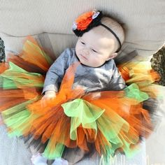 This cute no sew tutu is easy to make and fun for kids too!