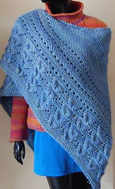 1000+ images about Free crochet shawl patterns on Pinterest Free crochet sh...