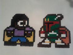 Star Wars Lando and Boba Fett Hama-Bead Art by Tommassey250  on deviantART