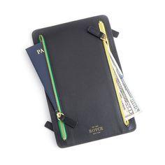 ff285a914 RFID Blocking Four Zip Travel Document Organizer    Full Grain Leather. Travel  Document OrganizerGrainsZip Around WalletFour