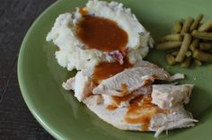 """Moist & Tender Turkey Breast: """"A girlfriend told me about this mayo trick when I was first married, and I've never roasted a turkey or turkey breast without it since. The skin is crisp and flavorful and the meat is tender, moist and delicious."""" -Marg (Cayman Designs) #UltimateThanksgiving"""