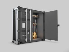 The gun safe is not only needed to safeguard your guns but it is also necessary to keep your family safe. Commercial Movers, Locker Storage, Guns, Furniture, Home Decor, Weapons Guns, Decoration Home, Room Decor, Home Furnishings