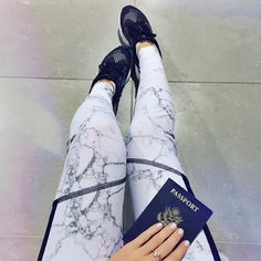 Marble Leggings | OliviaRink.com