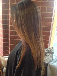 sombre hair straight - Google Search