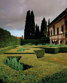 cecil ross pinsent architetto / giardini di villa la foce, chianciano terme siena
