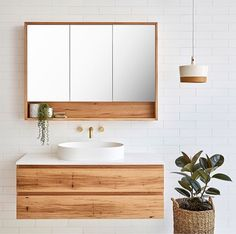 Loughlin Furniture Avoca Single Bathroom Vanity to - Handmade on the NSW Central Coast - The Blue Space Small Bathroom Storage, Laundry In Bathroom, White Bathroom, Bathroom Wall, Bathroom Ideas, Bathroom Organization, Bathroom Vanities, Wall Storage, Toilet Storage