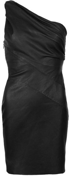 This is cute! I tend to only by dresses where I can wear a bra though, so it would need to be supportive.  ALL SAINTS LONDON LEATHER Rodan Dress