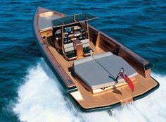 Motorboat Wally Tender 45