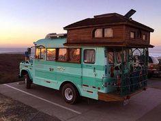 Goals! #Pinterest # #adventuremobile #buslife #vanlife