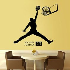 Fange DIY Removable Michael Jordan 23 Art Mural Vinyl Waterproof Wall Stickers Living Room Decor Basketball Decal Sticker Wallpaper 22.8''x22'' Fange http://www.amazon.com/dp/B0181YGE9W/ref=cm_sw_r_pi_dp_kCBMwb0N7ZMAF