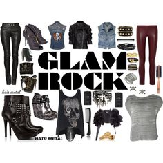 Hair Metal GLAM ROCK - Polyvore