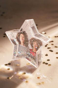 Star Glitter Frame - Urban Outfitters