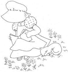 Coloring Sunbonnet Sue Coloring Pages Images Best Embroidery with Redwork Embroidery Dutch Girl and Girls Sunbonnet Sue Coloring Pages Dettagli Su Bonnie Bonnets Norex Simpatie Italy Diary Hand Embroidery Patterns, Vintage Embroidery, Embroidery Applique, Embroidery Stitches, Quilt Patterns, Embroidery Designs, Sunbonnet Sue, Machine Applique, Machine Embroidery