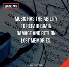 <3=<3 <3=<3 <3=<3 Unfortunately music is randomly used in brain injury rehabilitation (that is covered by health insurance and/or majority of population can afford). I strongly believe music is underestimated for the power in helping the brain in so many ways! We need to increase opportunities in music & arts!!!! <3=<3