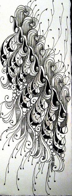 Patrones de Zentangle: Patrones #Zentangle                                                                                                                                                      Más