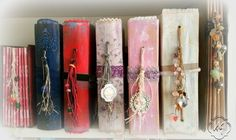 Gallery - The books are handmade and you can use them as a photo album, wedding guest book, travel or adventures diary.