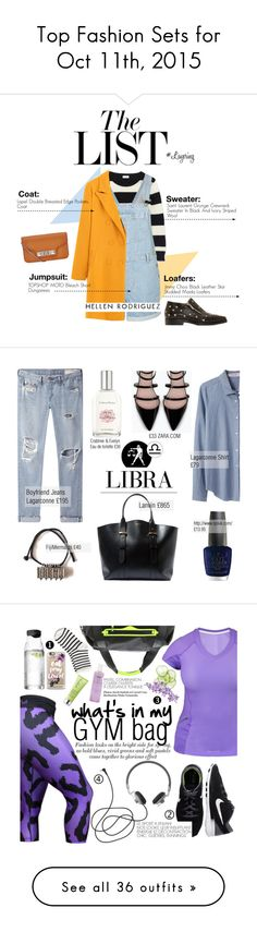 """Top Fashion Sets for Oct 11th, 2015"" by polyvore ❤ liked on Polyvore featuring Yves Saint Laurent, Topshop, Jimmy Choo, Proenza Schouler, StreetStyle, editorial, StreetChic, Organic by John Patrick, Crabtree & Evelyn and Lanvin"