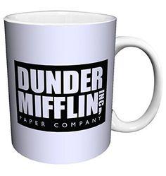 Dunder Mifflin (The Office) World\'s Best Boss TV Television Show Ceramic Gift Coffee (Tea, Cocoa) Mug, 11 Ounce - coffee mug online