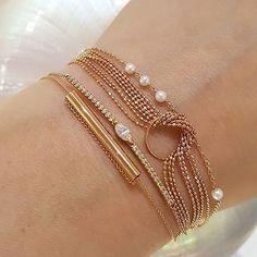 Sometimes delicate makes a big statement. Delicate, Gold Bracelets, Big, Instagram Posts, Jewelry, Amazing, Gold Charm Bracelets, Jewlery, Jewerly