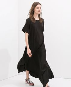 ZARA - NEW THIS WEEK - COMBINED MAXI DRESS