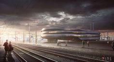 Best of Week 07/2015 - CTD Railway by Carlos Mazon - Ronen Bekerman - 3D Architectural Visualization & Rendering Blog