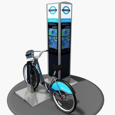 Barclays Cycle Hire Model available on Turbo Squid, the world's leading provider of digital models for visualization, films, television, and games. Golf Clubs, Models, 3d, Digital, Templates, Fashion Models
