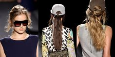 The ponytails for AW13: messy, out of bed http://fashionista.com/2012/03/10-new-ways-to-wear-ponytails-straight-from-the-fall-runways/9/