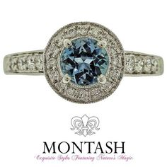 Originally the round #brilliant cut was developed exclusively for #diamonds & is now widely used for all #gemstones! #montashjewellerydesign