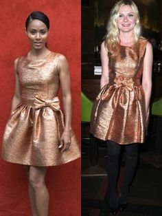 1000+ images about Celebrities Wearing the Same Dress on ...