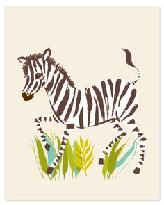 Cute little Zebra!