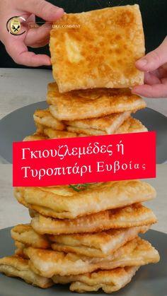 Pita Pizzas, Samosa Recipe, Piece Of Cakes, Greek Recipes, Starters, Sandwiches, Bread, Snacks, Cooking