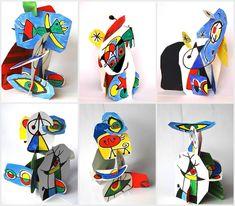 Miro sculptures