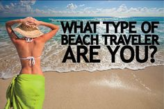 Figure out what kind of beach traveler you are here! With All Inclusive beach vacations, it's usually often not a 'One Size Fits All' situation. Each traveler is unique. #applevacation #beach #travel