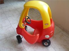 Little Tikes Cozy Coupe Car. I wanted this so bad! 90s Childhood, My Childhood Memories, Die A, See Again, Little Tykes, Ol Days, The Good Old Days, My Children, Vintage Toys