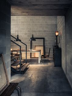10 Courageous Tips AND Tricks: Industrial Style Ideas industrial living room brick.Old Industrial Windows. Vintage Industrial Furniture, Industrial Bedroom, Industrial Living, Industrial House, Industrial Interiors, Industrial Style, Industrial Design, Kitchen Industrial, Industrial Lamps