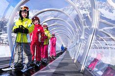 Forradalom a síoktatásban: mozgójárdák, körhinták - olvasd el cikkünket! Fair Grounds, Snow, Fun, Kids, Travel, Young Children, Boys, Viajes, Destinations